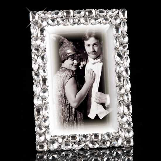 Sparkling Fantasy Jeweled Picture Frame