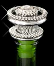 Monaco Jeweled Bottle Stopper