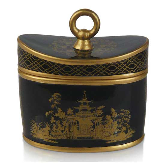 Midnight Garden Chinoiserie 2-Wick Candle