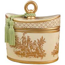 Regal Garden Toile 2-Wick Candle