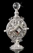 Antoinette Jeweled Perfume Bottle