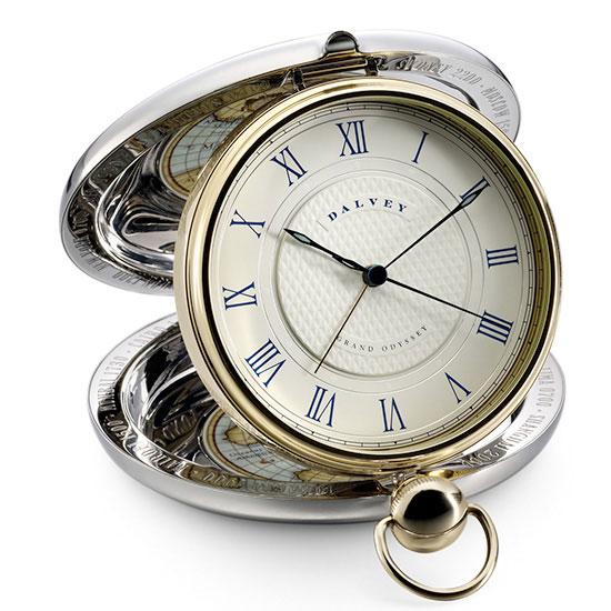 Dalvey Gold Grand Odyssey Alarm Clock