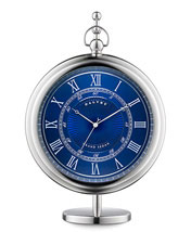 Dalvey Grand Sedan Clock - Blue