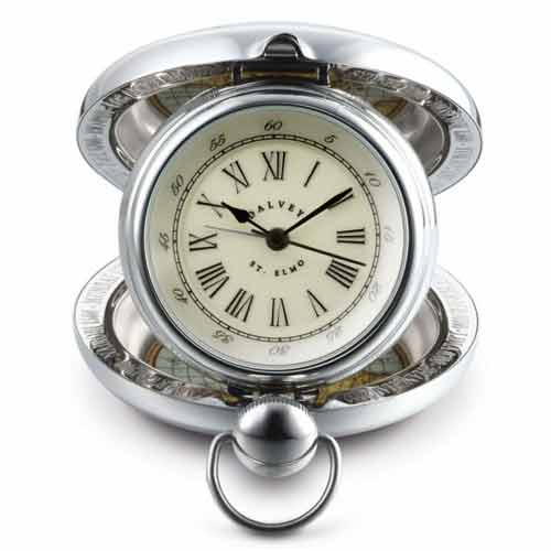 Dalvey St. Elmo Travel Clock