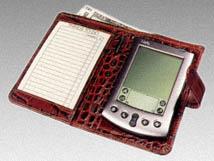 Crocodile Palm Pilot Case-Wallet Style