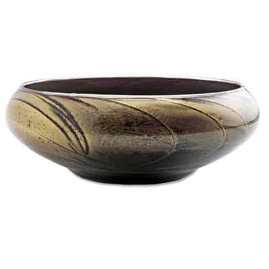 Ebony Lights Bowl With 4-Wick Candle