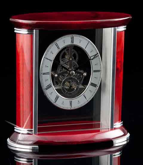 Lucerne Rosewood Clock