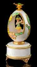 Garden Fairy Musical Egg