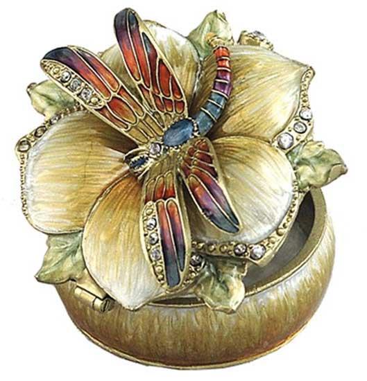 Dragonfly Jeweled Box
