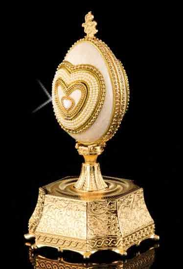 I Will Always Love You Musical Egg With Ring Holder