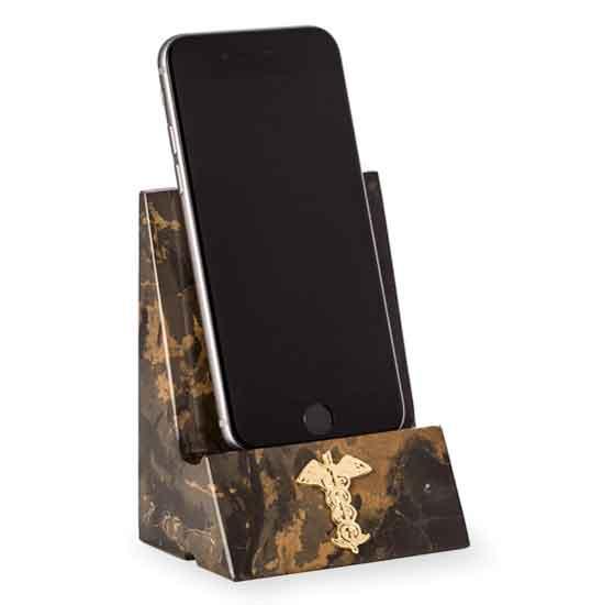 Medical Marble Desktop Phone/Tablet Cradle
