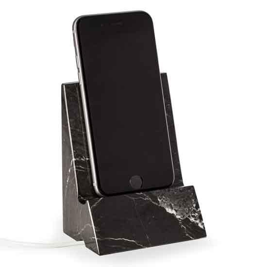 Black Zebra Desktop Phone/Tablet Cradle