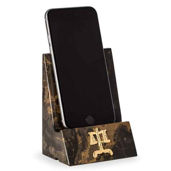 Legal Marble Cell Phone/Tablet Cradle