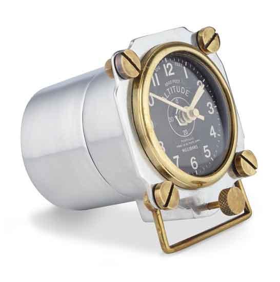 Airplane Altimeter Desk Clock