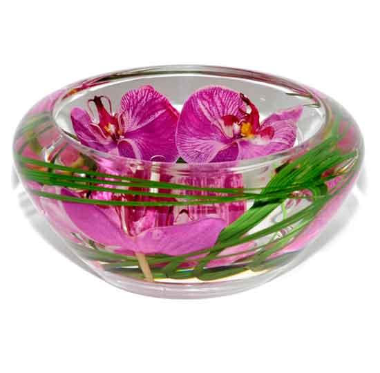 Fuchsia Orchid Bowl