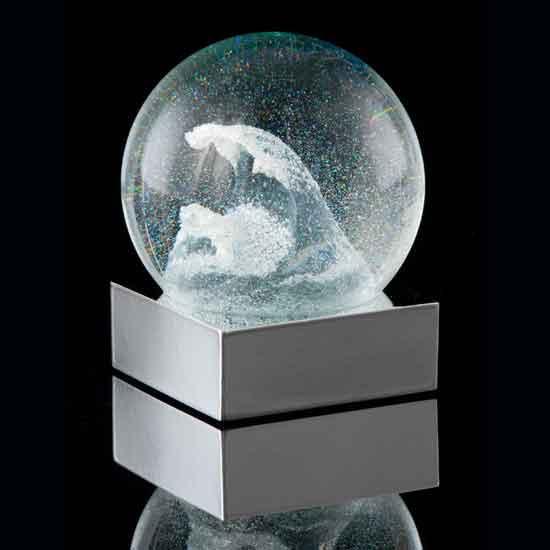 Ocean Wave Snow Globe