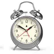 Chrome Cruising Alarm Clock
