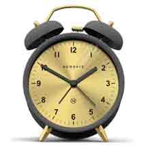 Golden Face Alarm Clock