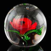 Scarlet Poppy Paperweight