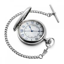 Dalvey Hunter Pocket Watch With Chain