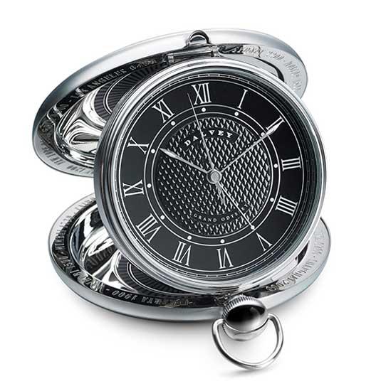 Dalvey Black Odyssey Alarm Clock