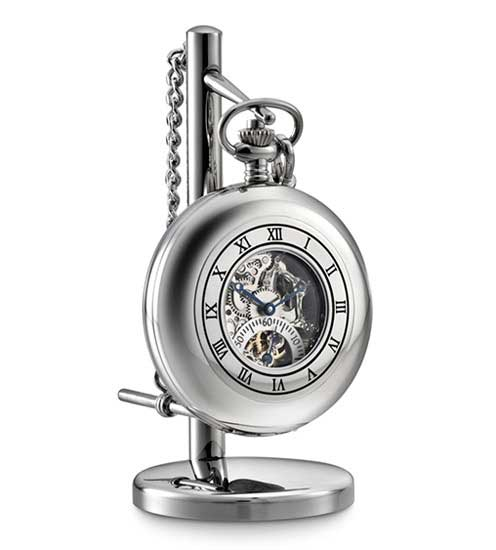 Dalvey Skeletal Pocket Watch and Stand