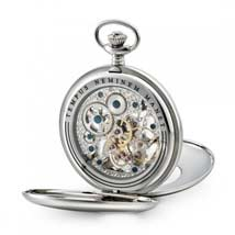 Dalvey Skeletal Pocket Watch - Open Back