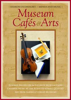 Museum Cafes and Art Menus and Music