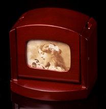 Rosewood Pop-Up Card Holder/Picture Frame
