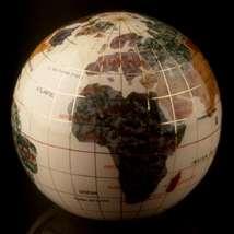 Opalite Globe Paperweight