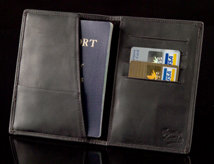 Sheridan Passport/Card Holder - Open