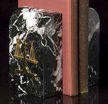 Legal Marble Bookends