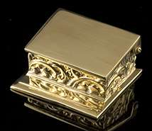 Charleston Brass Desk Box