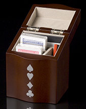 Playing Card Box - Open