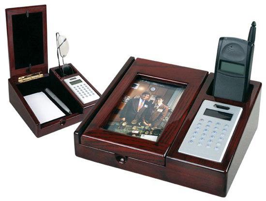 Executive Desk Organizer with Calculator