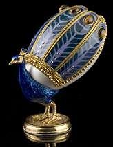 Elegant Peacock Egg