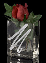 Silver Expression Vase/Pen Holder