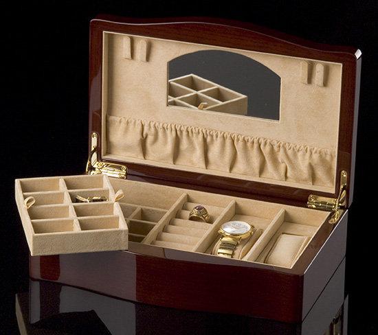 Champagne Maple Jewel Box