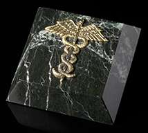 Medical Marble Paperweight