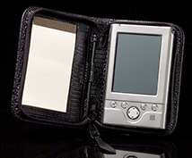Black Lizard Palm Pilot Case