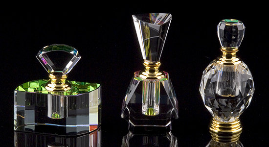 Contessa Crystal Perfume Bottle