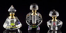 Romantic Crystal Perfume Bottles