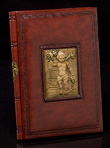 Bordeaux Italian Leather Wine Journal